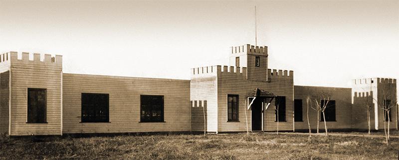 """El Castillito"""" Inaugurado en 1924, funcionó hasta 1962, cuando comenzaron las obras de la actual galería."""