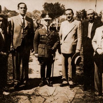 El Presidente Mezzadra y el General Arana fueron grandes amigos, unidos por la pasión del tiro deportivo. La gestión del General Arana como Director General de Tiro y Gimnasia fue coincidente con la última etapa presidencial de Mezzadra,