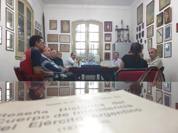 Autoridades del Municipio de Quilmes visitan la Institución y brindan su apoyo al desarrollo deportivo.