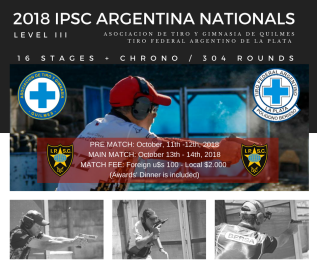 2018 IPSC ARGENTINA NATIONALS