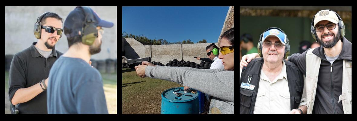 Cursos iniciales de tiro en Quilmes, con Instructores certificados para todas las personas a partir de los 21 años de edad.